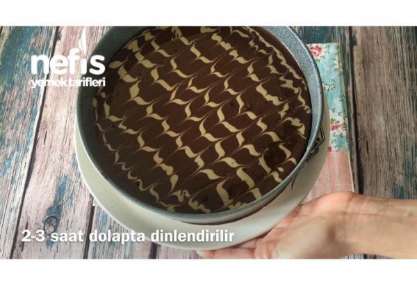 Tahinli Muzlu Kek (Videolu)