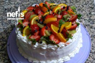 Bol Meyveli Pasta Tarifi
