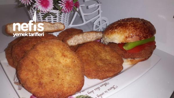 Nefıs Tavuk Burger(dışı Çıtır İçi Yumuşacık)