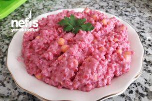 Pembe Kuskus Salatası Tarifi