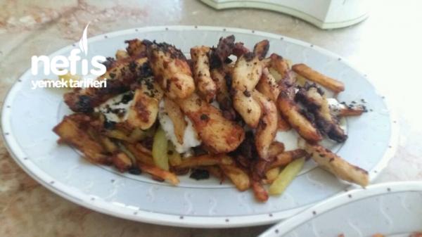 Tavuklu Çökertme Kebabı
