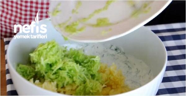 Salatalıklı Patatesli Meze