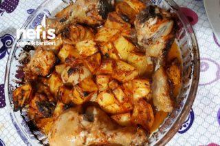 Fırında Bol Soslu Tavuk (Yoğurt Sosu) Tarifi