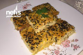 Fırında Patates Mücver (Patatesli Kek) Tarifi