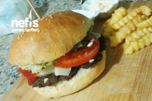 Hamburger Ekmeği Ve Köfte Tarifi