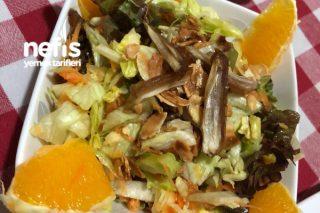 Hurmalı Portakallı Kış Salatası Tarifi