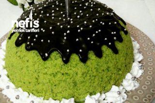Ispanaklı Kümbet Pasta Tarifi