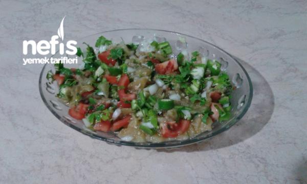Nefis Közlenmiş Patlıcan Salatam