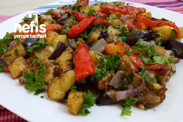 Kızartma Salatası (Kahvaltı Ve Günlere) Tarifi