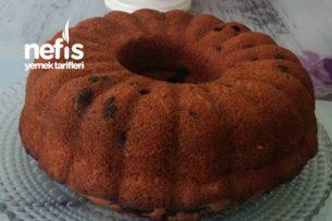 2 Renkli Damla Çikolatalı Kek Tarifi