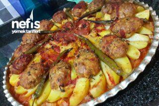 Fırında Patatesli Tavuk Köftesi Tarifi
