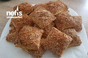 Milföy Hamurundan İçi Peynirli Çıtır Börek Tarifi (Çok Kolay)