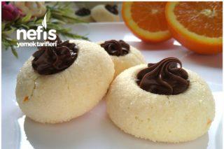 Mis Kokulu Portakallı Elmas Kurabiye (Pastaneden Almaya Son) Tarifi