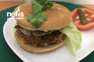Vejeteryan Sağlıklı Hamburger Tarifi