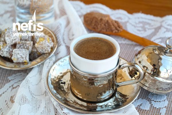 Bol Köpüklü Dibek Kahvesi