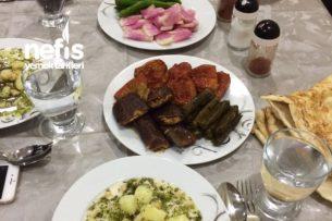 Eltimin Yöresel Akşam Yemeği Menüsü Tarifi