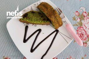 Ispanaklı Damla Çikolatalı Kek Tarifi