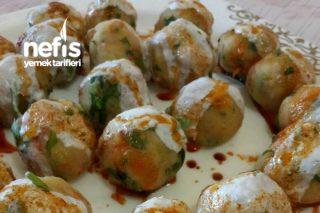 Mantı Tadında Patates Topları (En Pratik En Kolay Atıştırmalık) Tarifi