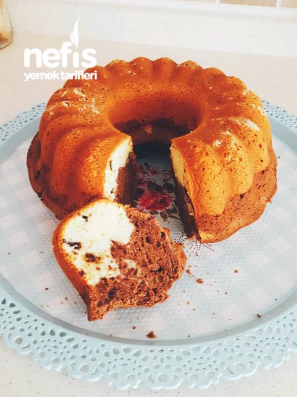Çaylı Damla Cikokatali Kek
