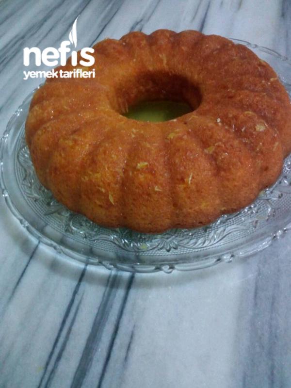 Çok Hafif Portakallı Kek