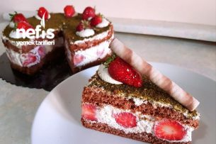 En Kolay Yaş Pasta Yapımı (Şık Sunumlu Pratik) Tarifi