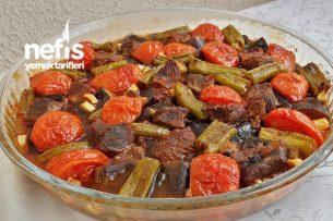 Fırında Nefis Etli Patlıcan Tava Tarifi