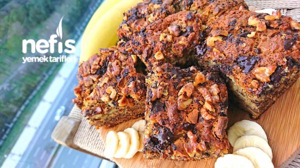 Muzlu Çikolatalı Cevizli Kek