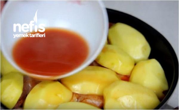 Patatesli Tavuk Baget Tarifi