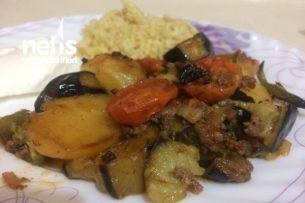 Patlıcanlı Patatesli Oturtma Tarifi