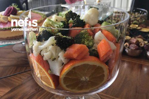 Zeytinyağlı Kış Salatası Tarifi