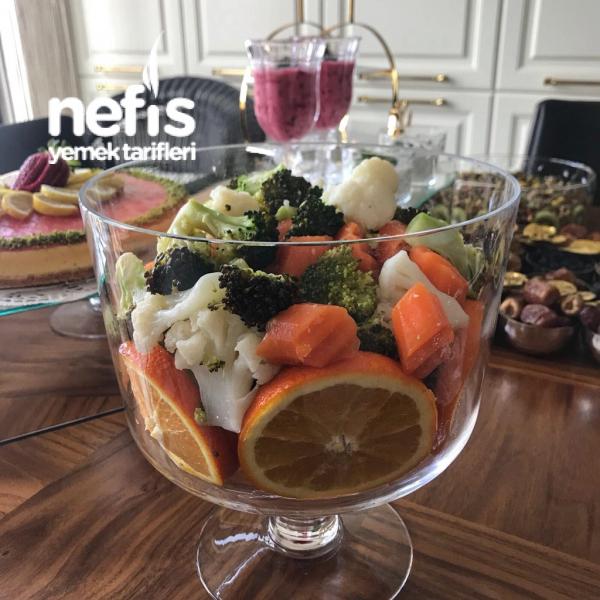 Zeytinyağlı Kış Salatası