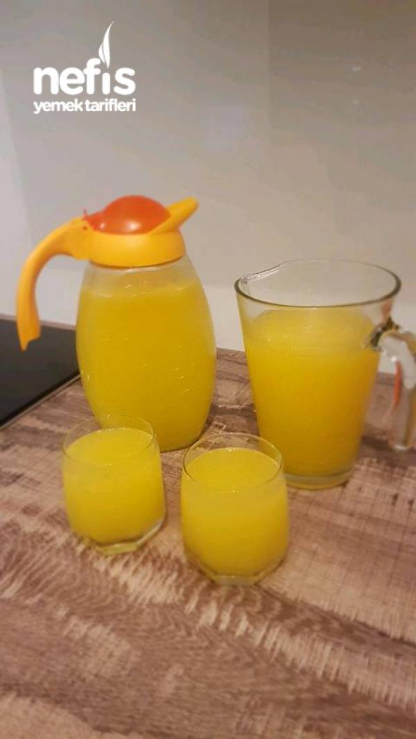 2 Potakal Ve 1 Limon İle Mis Gibi Ev Limonatasi