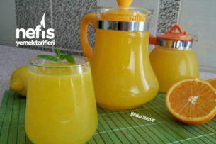 3 Portakal 1 Limon ile 5 Litre Portakal Suyu (Acısız Garanti Lezzet) Tarifi