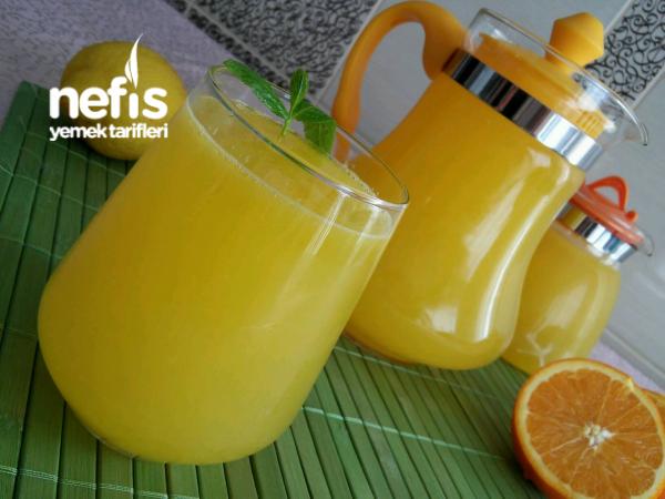 3 Portakal 1 Limon ile 5 Litre Portakal Suyu (Acısız Garanti Lezzet)