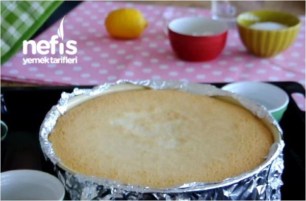Limonlu Cheesecake Yapımı