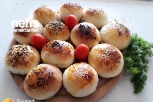 Zeytinli Ve Peynirli Poğaça Tarifi