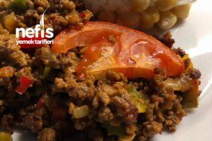 Fırında Kıymalı Köz Patlıcan (Süper Lezzet) Tarifi