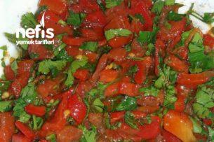 Köz Kapya Biber Salatası (Kahvaltılık) Tarifi