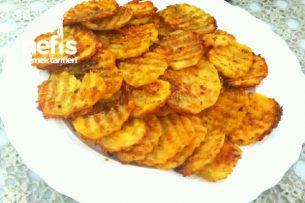 Cips Gibi Susamlı Nişastalı Fırın Patates Tarifi
