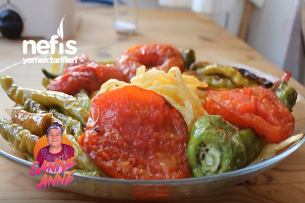 Domates, Biber Ve Patates Kızartması (Videolu) Tarifi