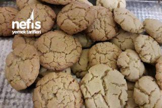 Nefis Ve Pratik Yerfıstığı Ezmeli Kurabiye (Peanut Butter Cookies) Tarifi