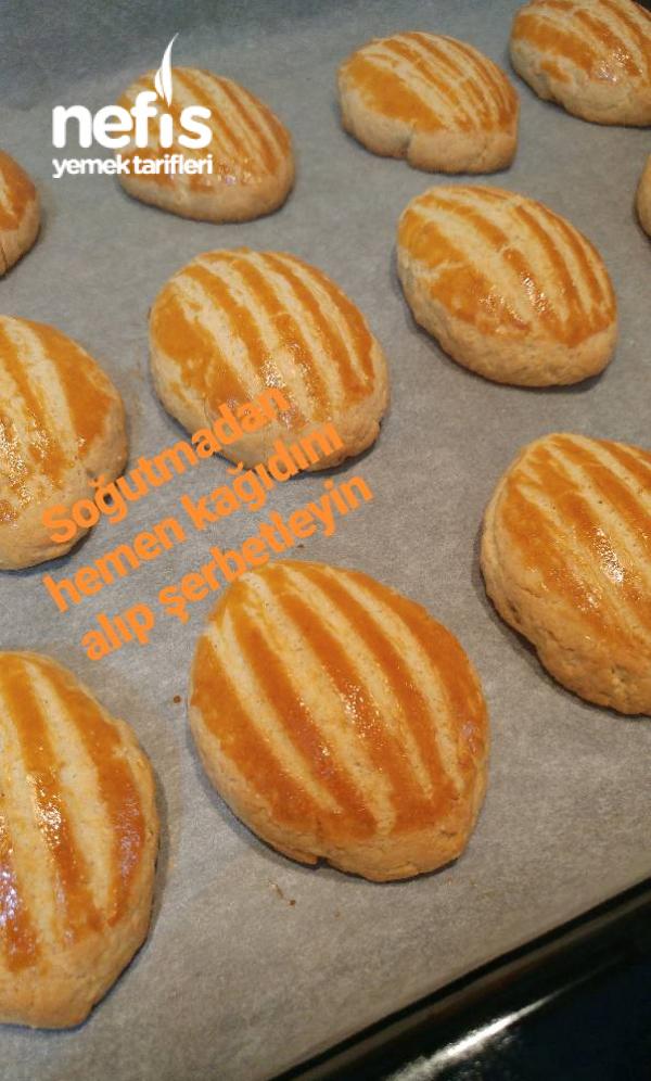 Pastane Usulü Şekerpare(Tam Ölçü Ve Şerbetini İyi Çekmiş)