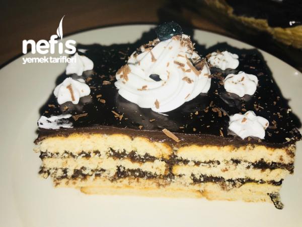 10 Dakıka Da Nefis Bisküvi Pastası(pratik)