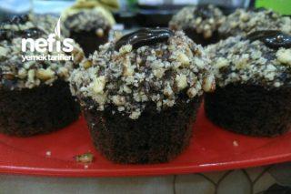Browni Tadında Muffin Kek Tarifi