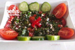 Zahter Salatası (Dağ Kekiği) Tarifi