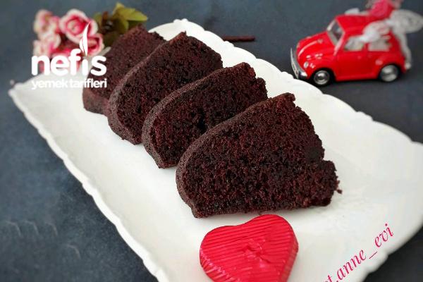 Kırmızı Bundt Kek Tarifi