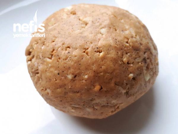 5 Dakikada Elmalı Lezzet Topları(pişirmeden)