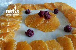 Artan Kekten Portakallı Pasta Tarifi