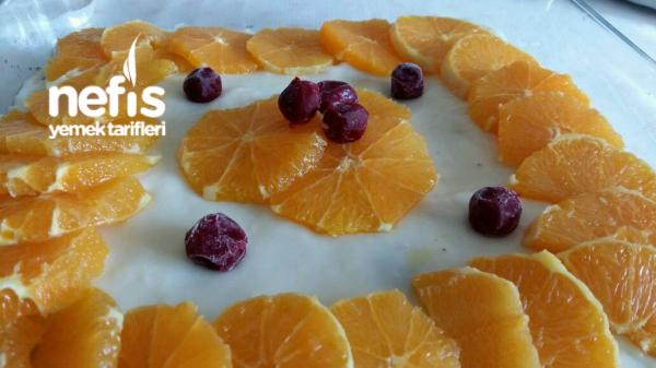 Artan Kekten Portakalli Pasta