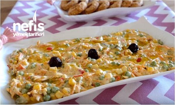 Bezelyeli Havuç Salatası